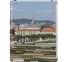 View from Upper Belvedere, Vienna Austria iPad Case/Skin