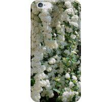 white wall iPhone Case/Skin