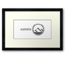 Rockies Apparel - Alberta Framed Print