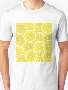 Lemon Slices Background T-Shirt
