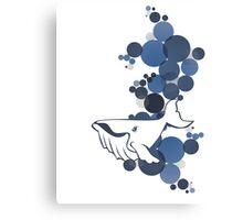 Blue Whale Canvas Print