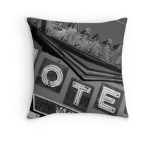 Niagra Falls, ONT: Cadillac Motel Throw Pillow
