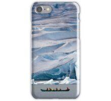 Exploring Mendenhall Lake iPhone Case/Skin
