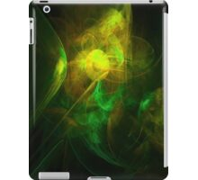 Alien Code Yellow Green iPad Case/Skin