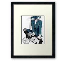Masquerading Selves - Self Portrait Framed Print