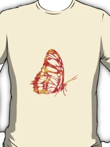 Red & Gold Butterfly T-Shirt