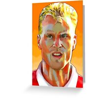 Dennis Bergkamp - Stillness & Speed Greeting Card