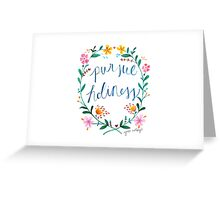 Pursue Holiness Greeting Card