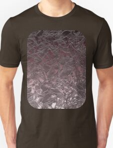 Grunge Relief Floral Abstract T-Shirt