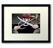 Mortal Kombat - Mileena Framed Print