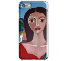 """Study to """"Love is like a bird""""  iPhone Case/Skin"""