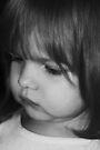 Little Girl in B&W by Evita