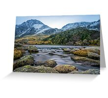 Tryfan  Greeting Card