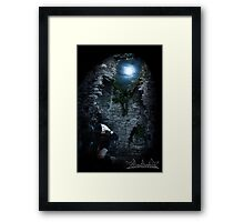 Cold & lonely Framed Print