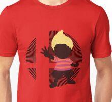 Lucas (Smash 4 Render, Red Shirt) - Sunset Shores Unisex T-Shirt