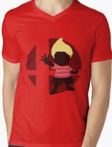 Lucas (Smash 4 Render, Red Shirt) - Sunset Shores Mens V-Neck T-Shirt