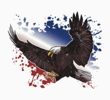 Bald Eagle - Red, White & Blue Kids Clothes