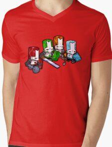 Castle Crashers - The Elements Mens V-Neck T-Shirt