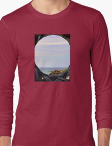 Currumbin Beach Queensland Australia Seaview Long Sleeve T-Shirt