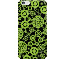 Ecosystem - Martian Green and Black iPhone Case/Skin
