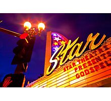 Star Theater Oceanside California Photographic Print