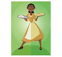 Symmetrical Princesses: Tiana Photographic Print