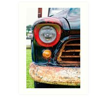 1956 Chevy 3200 Pickup Grill Detail Art Print