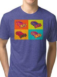 1964 Morgan Plus 4 Convertible Pop Art Tri-blend T-Shirt