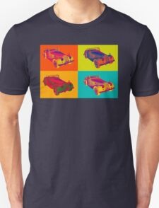 1964 Morgan Plus 4 Convertible Pop Art T-Shirt