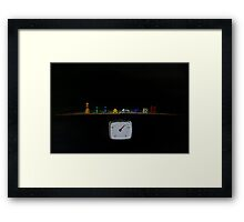 The Weight Of The World Framed Print
