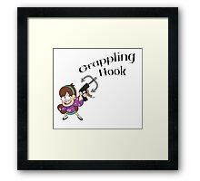 Mabel - Grappling Hook Framed Print