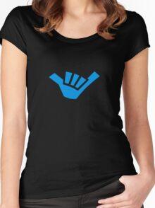 Shaka brah! Women's Fitted Scoop T-Shirt