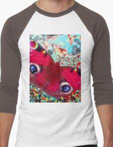 Peacock Butterfly Men's Baseball ¾ T-Shirt