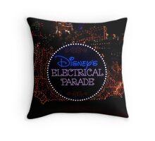 Electrical Parade Throw Pillow