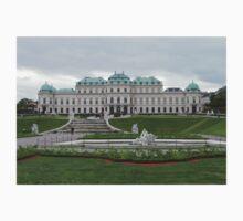Upper Belvedere, Vienna Austria One Piece - Short Sleeve