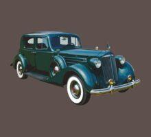 Packard Classic Car One Piece - Short Sleeve
