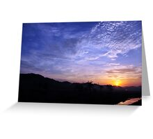 first lights Greeting Card