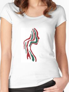 Tribe 01 Women's Fitted Scoop T-Shirt