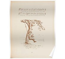 Rhymes for the Young Folk William and Hellen Allingham art Kate Greenaway 0057 Swing Song Poster