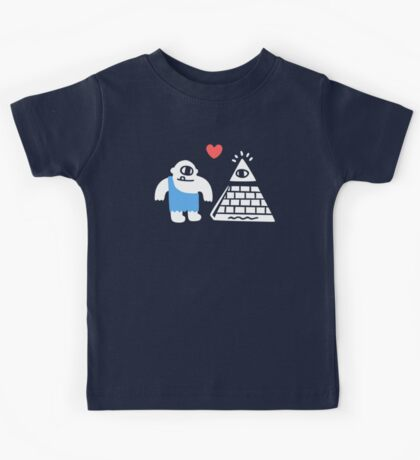 Adorable Conspiracy Theory Kids Tee