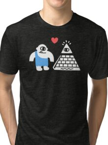 Adorable Conspiracy Theory Tri-blend T-Shirt