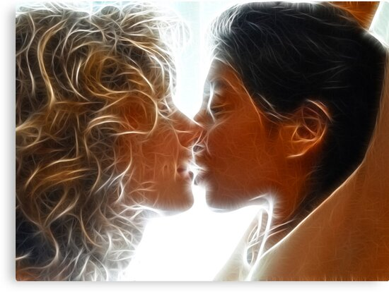 The Kiss by Chris Maher
