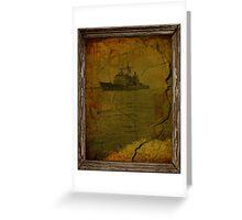 Naval Memories  Greeting Card