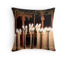 Lights At the Los Angeles Museum of Art 0763 Throw Pillow