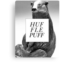 Classical Hufflepuff  Canvas Print