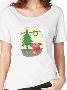 PiGgy is ready for Christmas! Women's Relaxed Fit T-Shirt