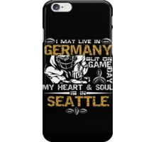 Game Day of american Football iPhone Case/Skin