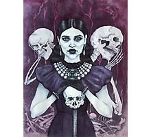 Death & Her Friends Photographic Print