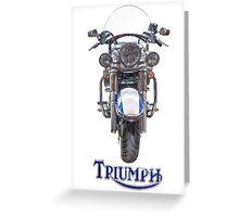 Triumph Thunderbird LT Greeting Card