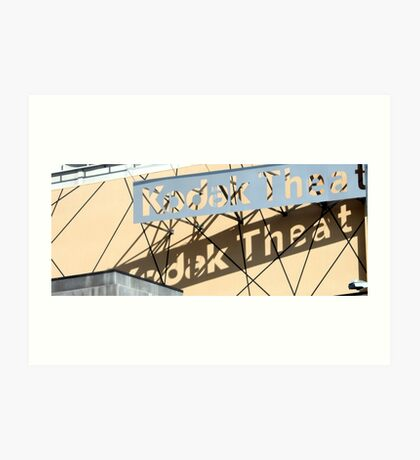 Kodak Theater 0823 Art Print